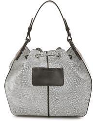 Time's Arrow - Lida Bucket Bag - White - Lyst
