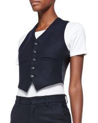 Current/Elliott T The Suit Vest - Lyst