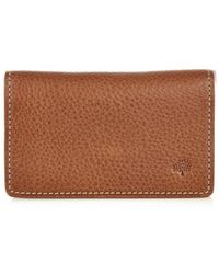 Mulberry Leather Card Case - Lyst