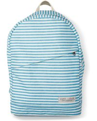 Stone + Cloth - Exclusive Aqua Stripe Lucas Backpack - Lyst
