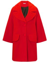 Vivetta Red Pilled Wool Sara Coat - Lyst