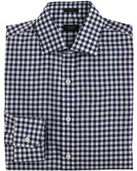 J.Crew Crosby Shirt In Classic Navy Gingham - Lyst