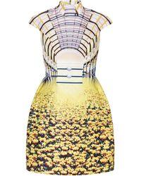 Mary Katrantzou Carmakal Dress Cupolla yellow - Lyst