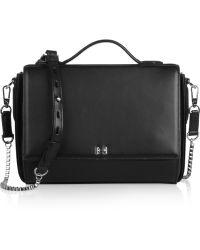 Halston Heritage Leather Shoulder Bag - Lyst