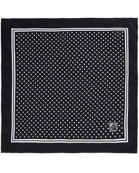 Dolce & Gabbana Polka-Dot Silk Pocket Square - Lyst