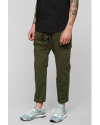 Vanishing Elephant Green Cargo Pant - Lyst