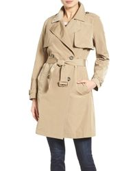 Madewell - 'parcel' Trench Coat - Lyst