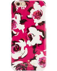 Kate Spade Romantic Spring Floral Iphone 6 Case - Lyst