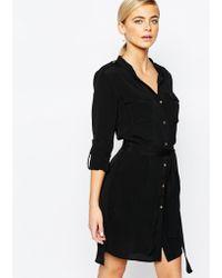 Oasis | Belted Shirt Dress | Lyst