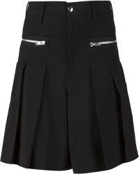 99% Is - Pleated Shorts - Lyst