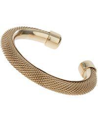 Topshop Mesh Chain Cuff - Lyst