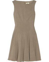 Issa Knitted Stretchwool Dress - Lyst