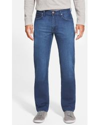 Agave - 'superbank' Relaxed Straight Leg Knit Jeans - Lyst