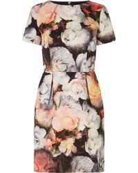 Oasis Multicolor Amelie Dress - Lyst