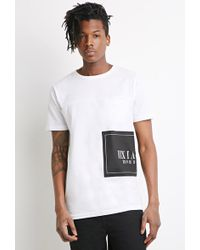 21men Roman Numeral Graphic Tee - Lyst