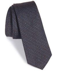 W.r.k. - Silk & Cotton Tie - Lyst