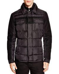 Moncler Blais Stand Collar Jacket black - Lyst