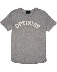 Cynthia Rowley Optimist T-Shirt - Lyst