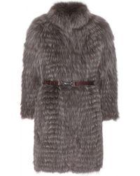 Manzoni 24 | Fox-Fur Coat | Lyst