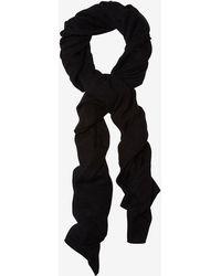 Skull Cashmere - Blanket Scarf: Black - Lyst