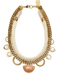 Lizzie Fortunato The Apolinia Necklace gold - Lyst