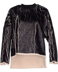 3.1 Phillip Lim Coated Cut-Away Sweater - Lyst
