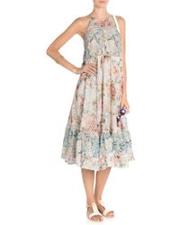 Zimmermann Georgia Floral Sun Dress - Lyst