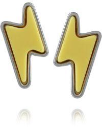 Marc By Marc Jacobs - Debbies Bolt Stud Earrings - Lyst