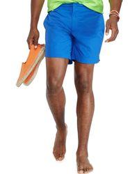 Polo Ralph Lauren Solid 7 Swim Trunk - Lyst