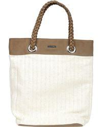 Stefanel Two-Tone Shoulder Bag - Lyst