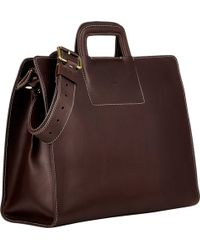 Boldrini Selleria - Retractable-Handle Briefcase - Lyst