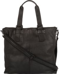 Barneys New York Front-Flap Messenger Bag - Lyst