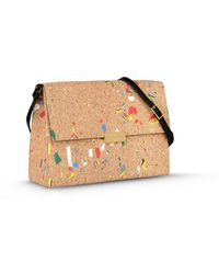 Stella McCartney Beckett Cork Shoulder Bag - Lyst