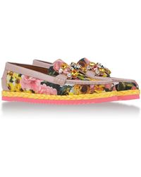 Dolce & Gabbana Loafers & Slippers - Lyst