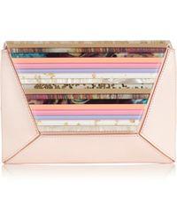 Coast Roxanne Clutch pink - Lyst