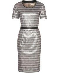 Burberry Sylvia Sequinned Satin Dress - Lyst