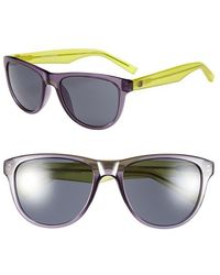 Converse - 'master Track' 56mm Sunglasses - Purple - Lyst