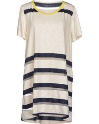 Purotatto Short Dress - Lyst