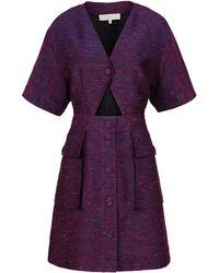 Stella McCartney Purple Kery Dress - Lyst