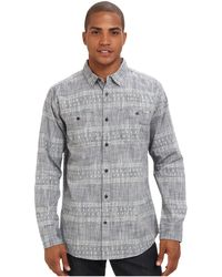 Reef Cabo Pulmo Ls Woven - Lyst