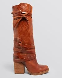 Free People - Tall Slouch Boots - Royal Rush - Lyst