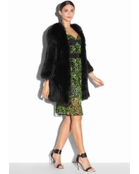 Milly | Featherweight Fur Coat | Lyst