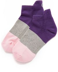 Pointe Studio - Mission Cushioned Running Socks - Purple - Lyst