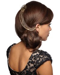 Ana Accessories Inc - Chain The Rules Hair Comb - Lyst