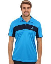 Adidas Tennis Sequencials Galaxy Polo - Lyst