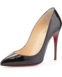 Christian Louboutin Pigalle Follies Patent Red Sole Pump - Lyst