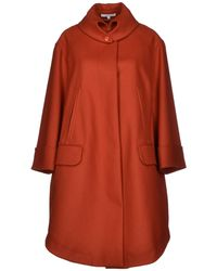 Carven Coat - Lyst