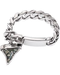 Givenchy Palladiumplated Sharks Tooth Bracelet - Lyst