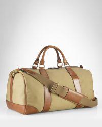 Ralph Lauren Darkblue Canvas Pony Slim Handbag