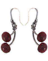 Marc By Marc Jacobs - 'pavé Cherry' Earrings - Lyst